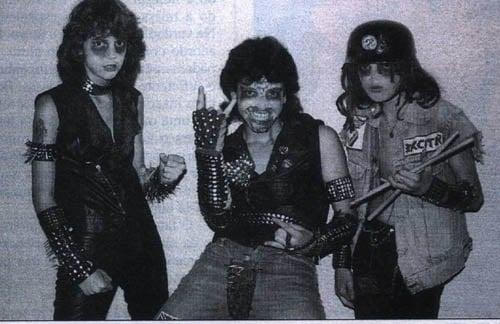Max, Igor e Wagner, do Sarcófago|Foto enviada por Nocturnal Supremacy