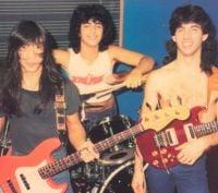 John Myung, Mike Portnoy e John Petrucci